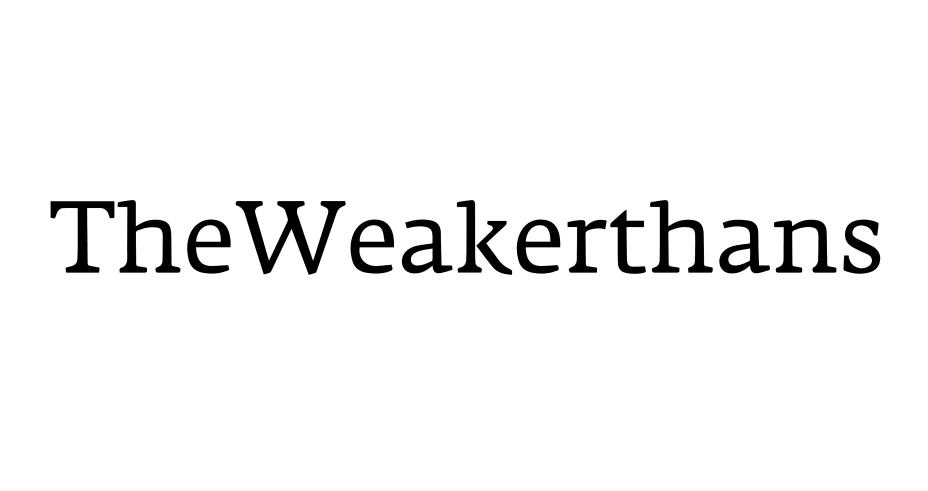 The Weakerthans Logo