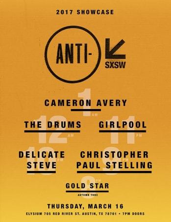 ANTI- RECORDS AT SXSW 2017