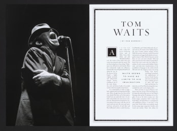 Tom Waits Inducted Into Rock n Roll Hall Of Fame By Neil Young  At The Historic Waldorf Astoria