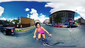 Xenia Rubinos Releases 360 Degree Video