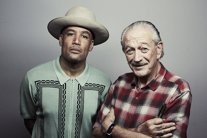 "Ben Harper & Charlie Musselwhite Perform ""Found The One"" On The Late Show With Stephen Colbert"
