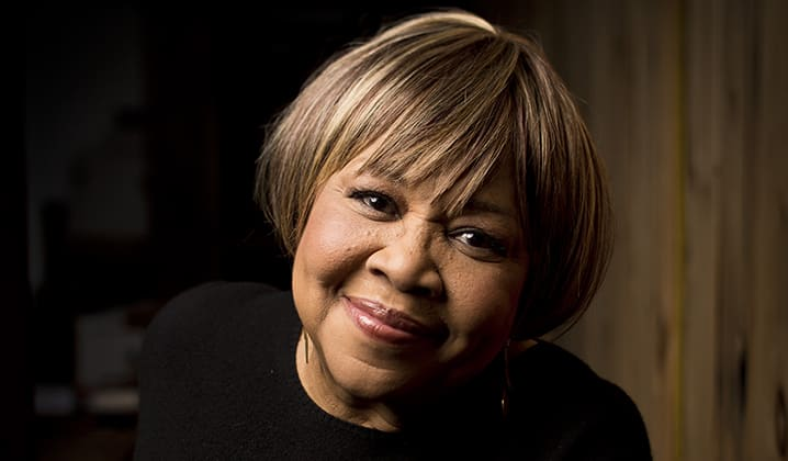 "Mavis Staples Calls For ""Action"""
