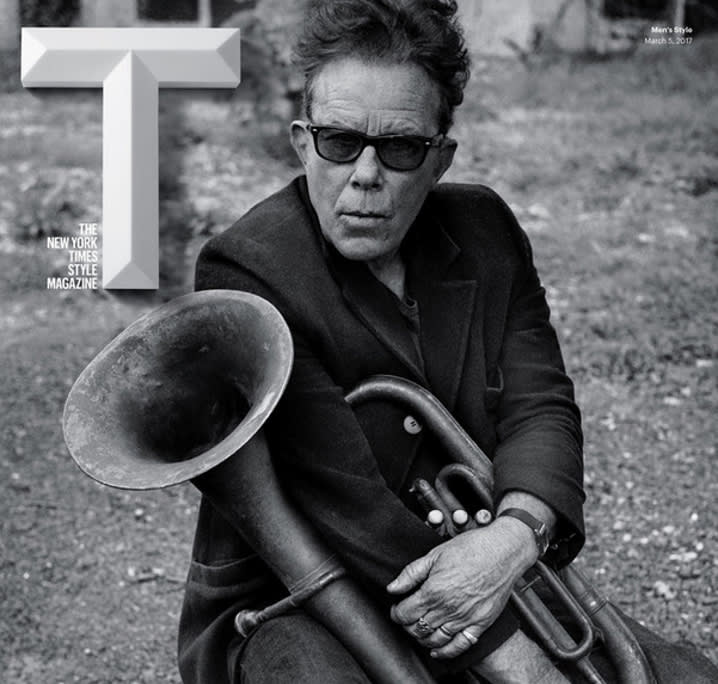 Tom Waits Featured On Cover Of T: The New York Times Style Magazine