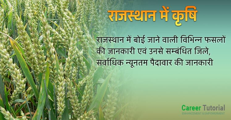 Rajasthan me Krishi