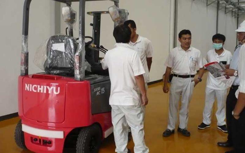 Jual Nichiyu Forklift Murah di Indonesia