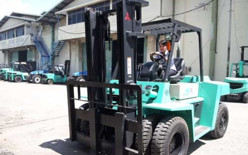 Forklift Bekas Mitsubishi Murah