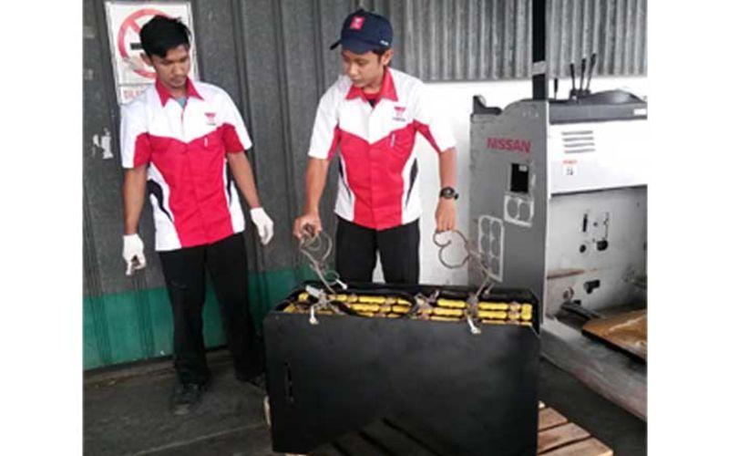 Jual GS Yuasa Battery Forklift Murah