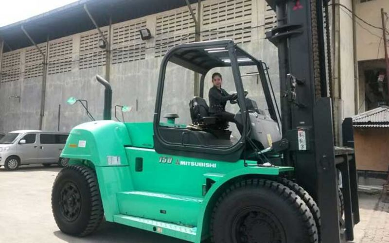 Jual Mitsubishi Forklift 15 Ton Murah Promo
