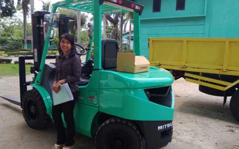 Jual Mitsubishi Forklift 3 Ton Murah