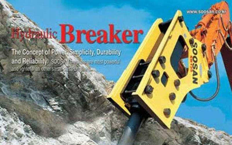 Jual Hydraulic Breaker Soosan Murah