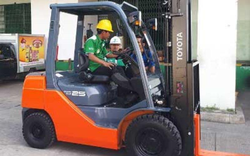 Jual Murah Toyota Diesel Forklift