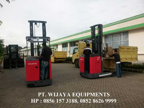 Nichiyu Forklift Ready Stock for Food Industrial