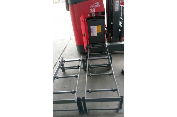Jual Murah Nichiyu Reach Truck Battery Trolley
