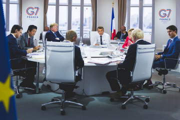 Latest from G7: US, France Reach Deal on Taxing Online Companies