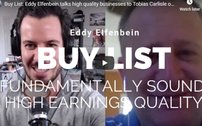 The Acquirers Podcast: Eddy Elfenbein — Building a Buy List
