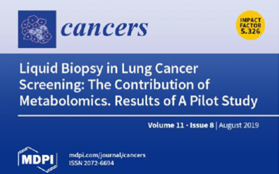BioMark's Liquid Biopsy Scientific Paper To Be Featured as Cover on Cancers' Upcoming Issue