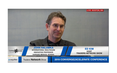 Dr. John Halamka Exclusive One-on-One Interview at 2019 Conv2x Conference | Traders Network Show – Equities News