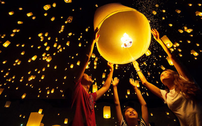 Thousands expected to gather at Sack Lunch's (SAKL) Lantern Fest(R) to witness spectacular release