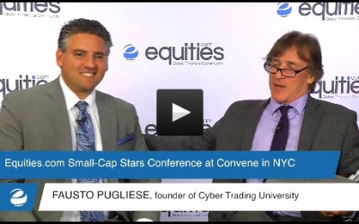 Fausto Pugliese of Cyber Trading University speaks with Equities.com at the Small-Cap Stars Spring Conference 2015