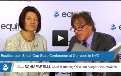 Jill Schiaparelli of AxoGen, Inc. (AXGN) speaks with Equities.com at the Small-Cap Stars Spring Conference 2015