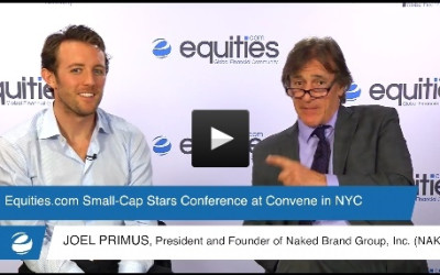 Joel Primus of Naked Inc. (NAKD) speaks with Equities.com at the Small-Cap Stars Spring Conference 2015