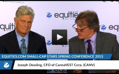 Joseph Dowling of CannaVEST (CANV) Interviewed by Equities.com at the Small-Cap Stars Spring Conference 2015