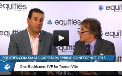 Glen Buchbaum of Toppanvite speaks with Equities.com at the Small-Cap Stars Spring Conference 2015