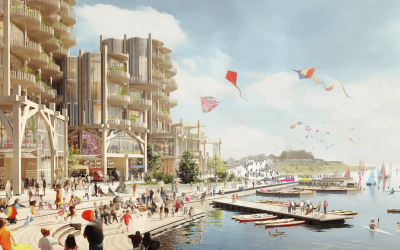 ​Highlights from Google's Ambitious Utopian Toronto Project