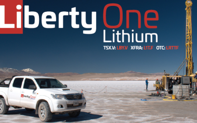 ​Liberty One Begins Drilling at Lithium Triangle Property