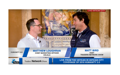 Matthew Loughran CMO of Uulala Interview with Host Matt Bird at Humanity 2.0 | Traders Network Show - Vatican City
