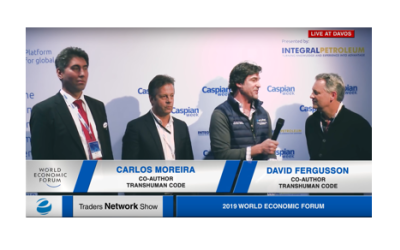David Fergusson, Carlos Moreira, & Murat Seitnepesov Interview with Host Matt Bird Interview at DAVOS2019 |Traders Network Show - World Economic Forum