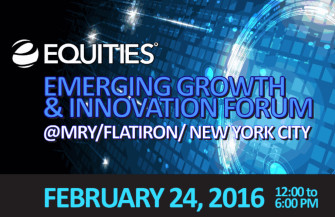 EQUITIES Emerging Growth and Innovation Conference