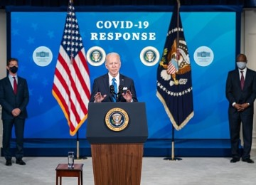 President Biden To Sign COVID-19 Relief Bill Before Giving First Prime Time Address Thursday