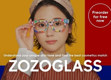 Japanese Fashion Retailer Zozo Launches Glasses That Measure Skin Tone To Help Online Cosmetics Buyers