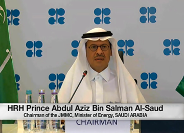Saudi Energy Minister Prince Abdul Aziz Warns Traders Against Shorting Oil