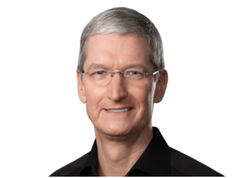 Apple Grants CEO Tim Cook With Restricted Stock Award, First Since 2011