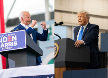 Biden and Trump Offer Vastly Different Perspectives on the Coronavirus Pandemic