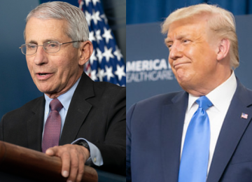 Trump Suggests He Might Try to Fire Fauci After the Election