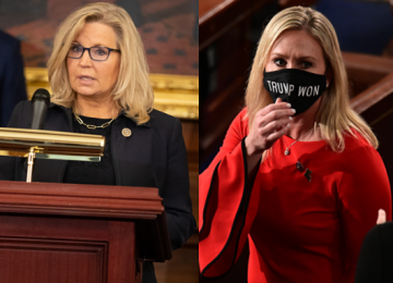 Republicans in Congress Face Questions Over Liz Cheney and Marjorie Taylor Greene