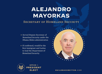 Senate Confirms Alejandro Mayorkas as Homeland Security Secretary
