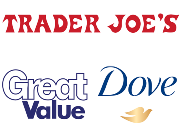 Trader Joe's, Walmart's Great Value and Unilever's Dove Among 'Most Loved Brands'