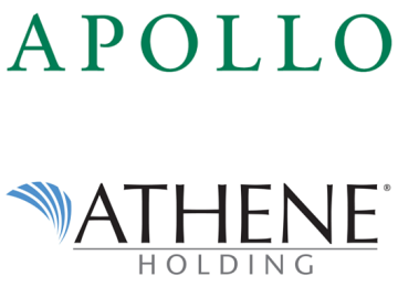 Apollo Global To Merge With Athene Holding in $11 Billion All Stock Deal