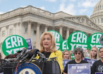 US Representative Carolyn Maloney Declares Victory in New York's 12th District