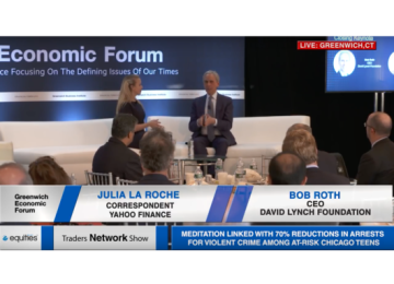 Bob Roth and Julia La Roche Deliver Fireside Chat at Greenwich Economic Forum | Traders Network Show – Equities News