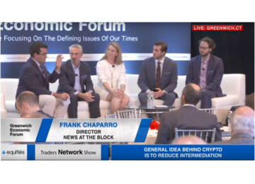 Frank Chaparro, Ari Paul, Greg Tusar, Trey Kelly, and Jeanine Hightower-Sellitto Discuss Crypto at Greenwich Economic Forum | Traders Network Show – Equities News