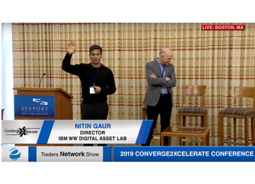 Design Principles of the Blockchain Network with Nitin Gaur and Francisco Curbera at 2019 Conv2x Conference | Traders Network Show – Equities News