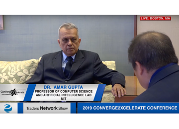 Dr. Amar Gupta Exclusive One-on-One Interview at 2019 Conv2x Conference | Traders Network Show – Equities News
