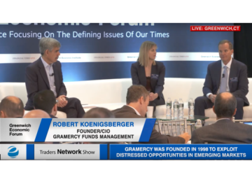 Mohamed El-Erian, Rebecca Braeu, and Robert Koenigsberger Discuss Emerging Markets at Greenwich Economic Forum | Traders Network Show – Equities News