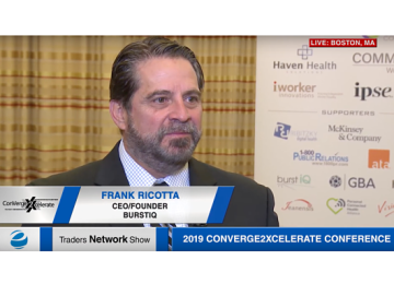 Frank Ricotta Exclusive One-on-One Interview at 2019 Conv2x Conference | Traders Network Show – Equities News