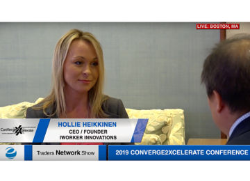 Hollie Heikkinen Exclusive One-on-One Interview at 2019 Conv2x Conference | Traders Network Show – Equities News